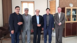 University of Giessen Representative Visits University of Kashan