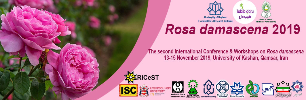 2nd International Conference on Rosa Damascena 2019